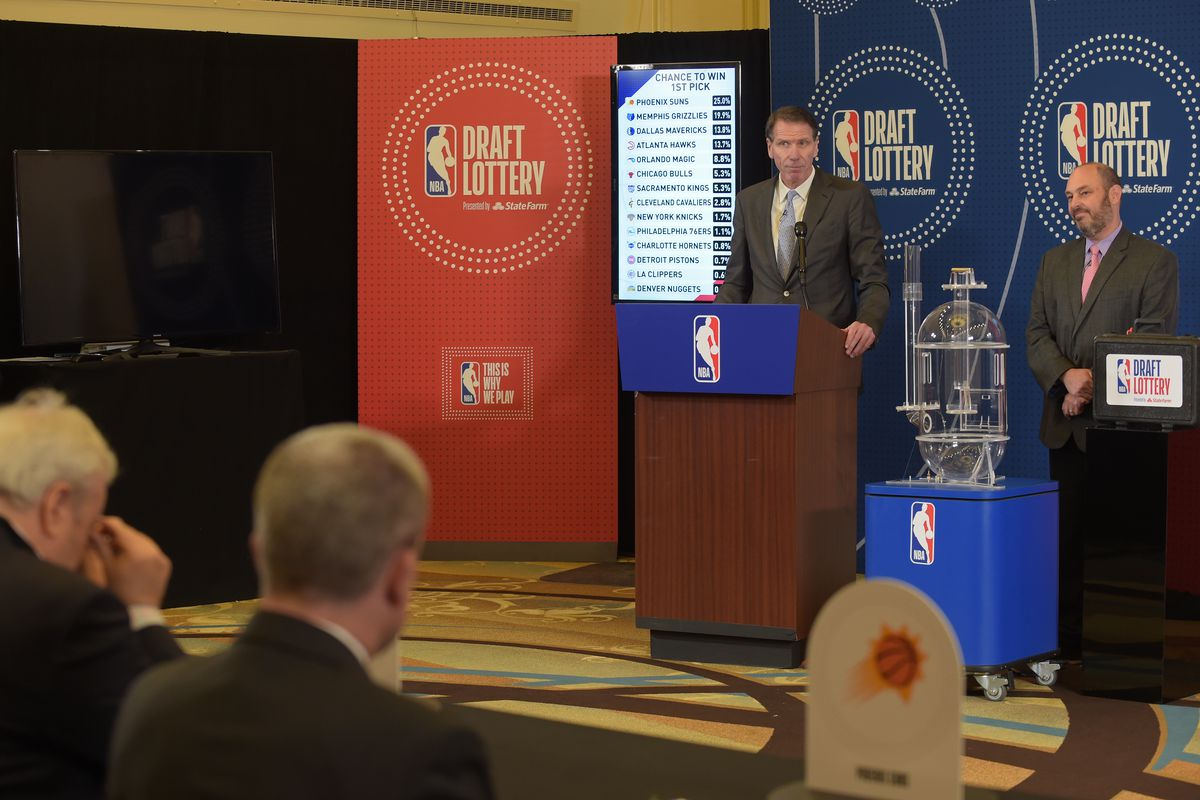 NBA Draft Lottery 2021: Updated odds for each team following tiebreakers -  DraftKings Nation
