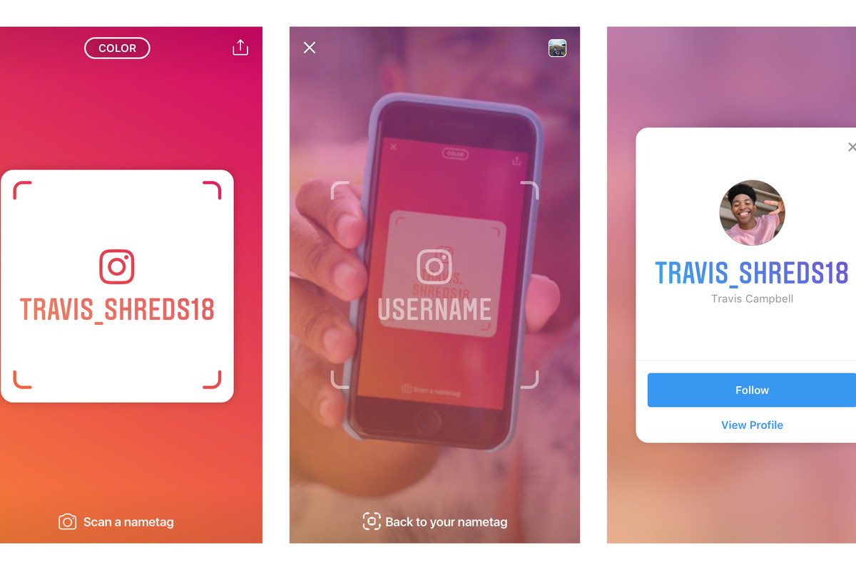 Instagrams Nametag Feature Makes It Easier To Follow People