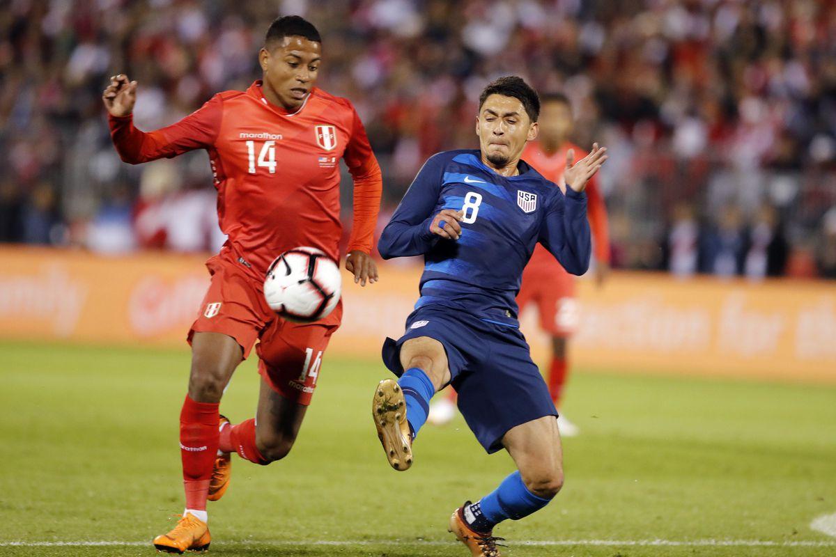 Soccer: International Friendly Soccer -Peru at USA