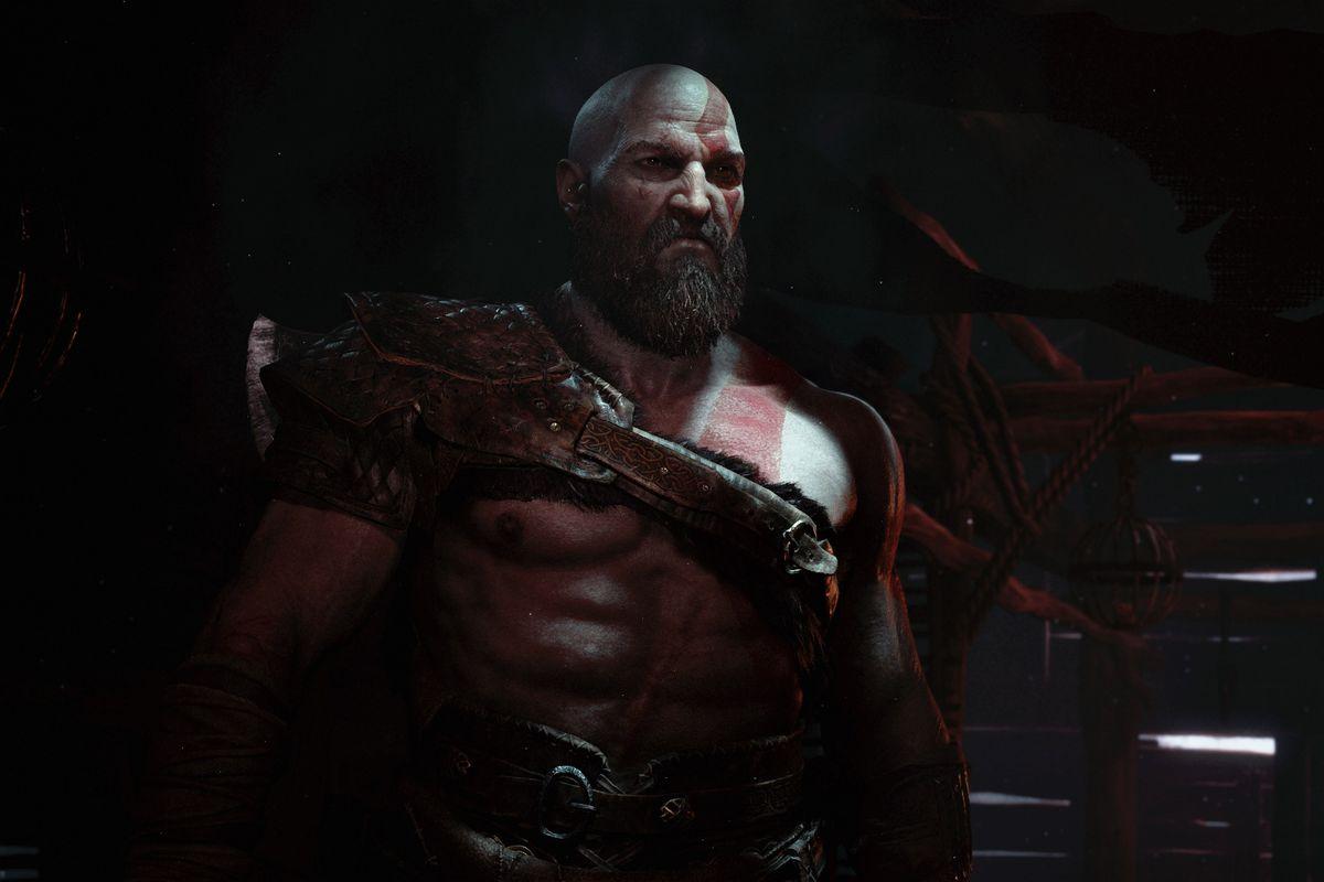 God of War - Kratos in shadow