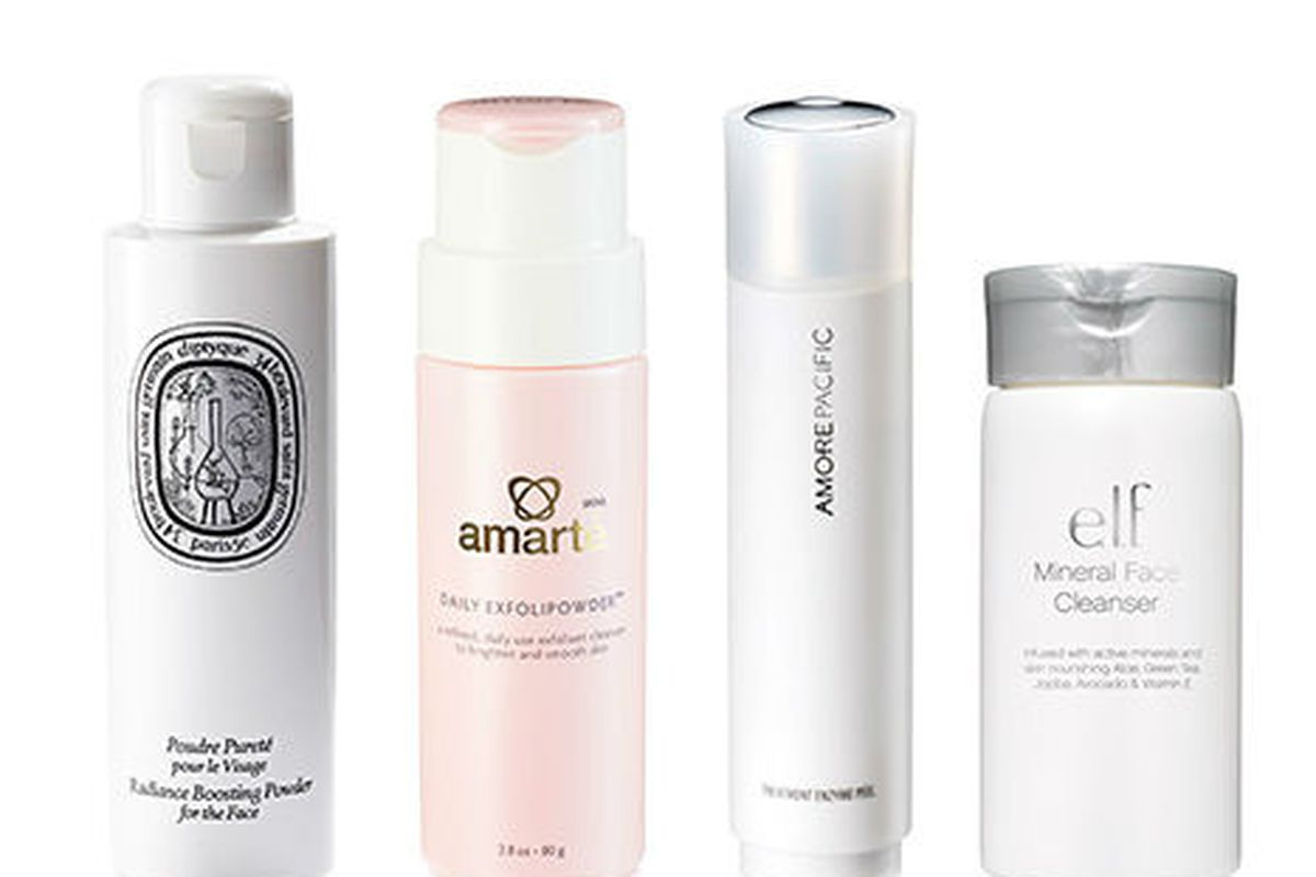 """Powdered cleansers; Image via <a href=""""http://www.allure.com/beauty-trends/blogs/daily-beauty-reporter/2014/04/facial-cleansing-powders-to-try.html"""">Allure</a>"""