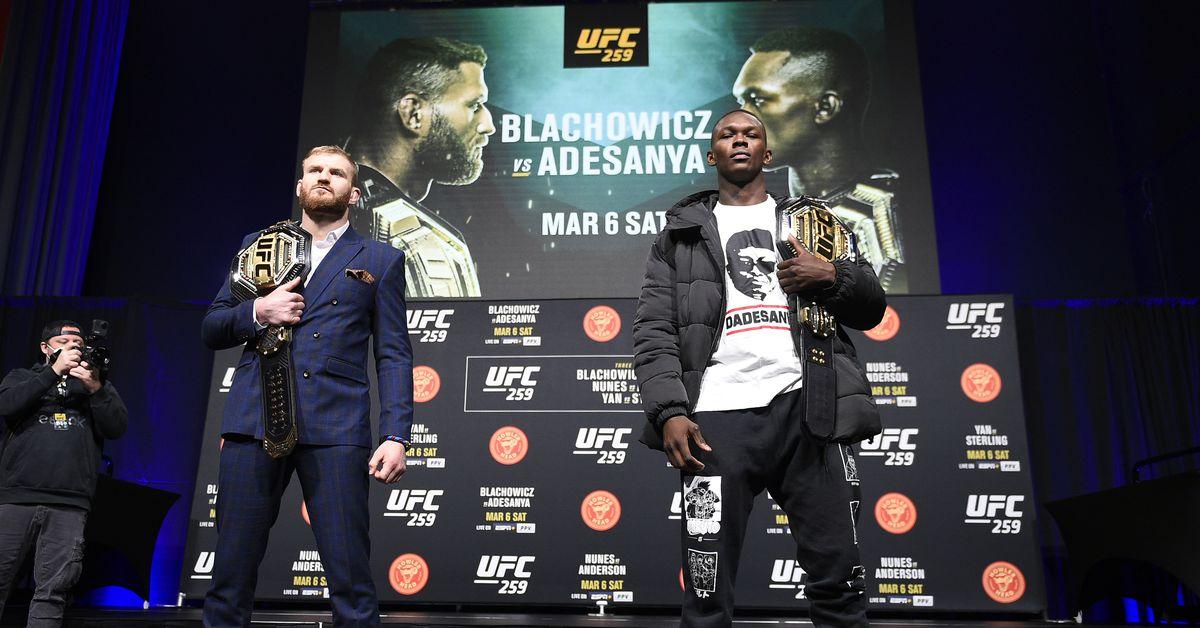 Double Up: Where will Jan Blachowicz vs. Israel Adesanya rank among the UFC's champ vs. champ fights?