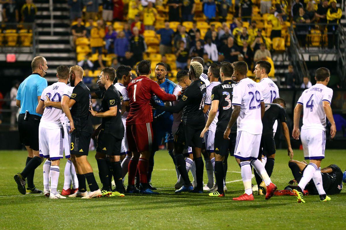 MLS: Orlando City SC at Columbus Crew SC