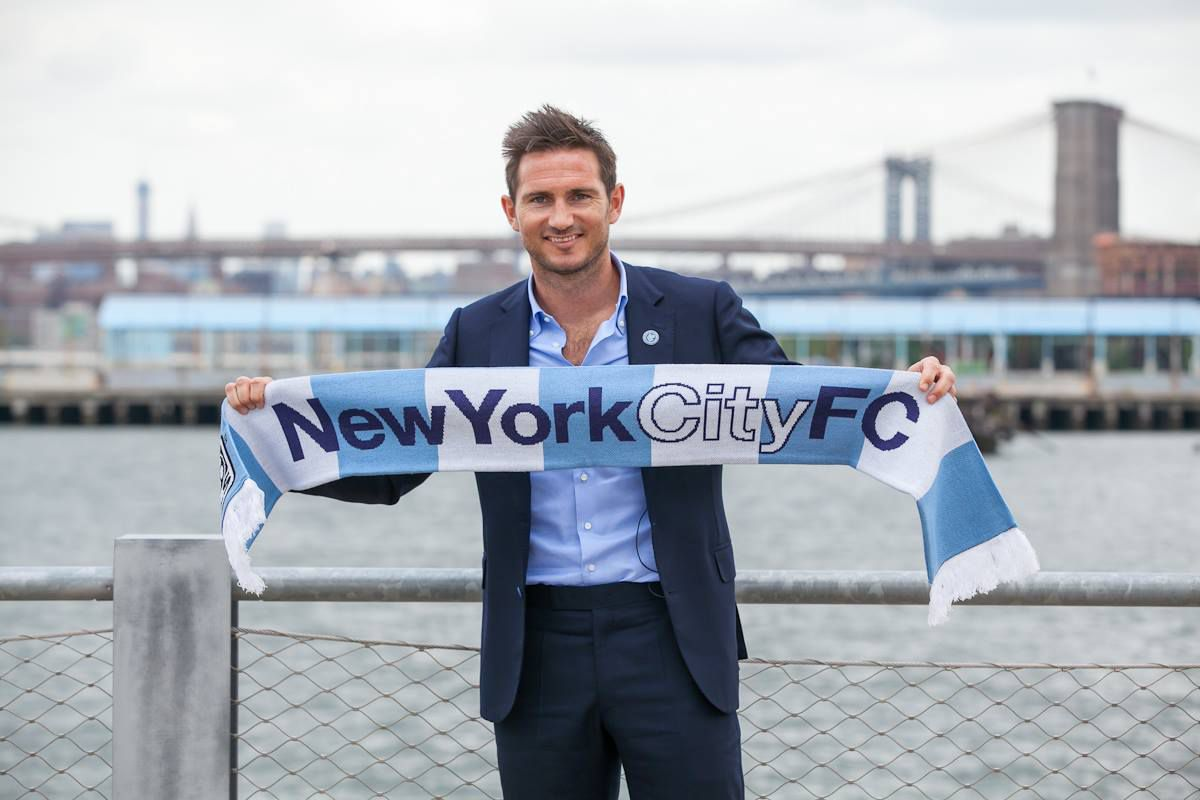 Frank Lampard, after signing with New York City FC, July 29th, 2014