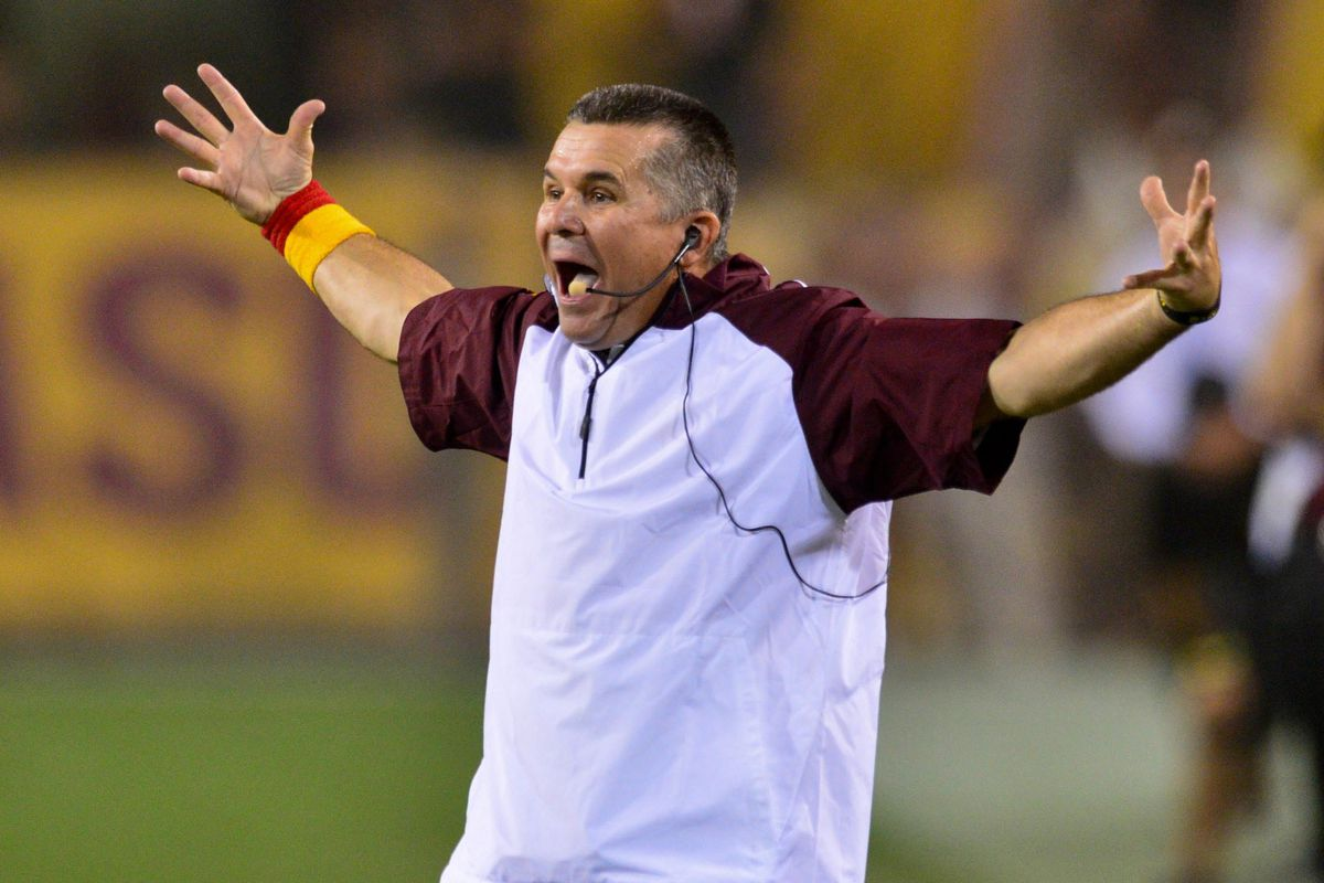Todd Graham couldn't believe the way the final seconds played out.
