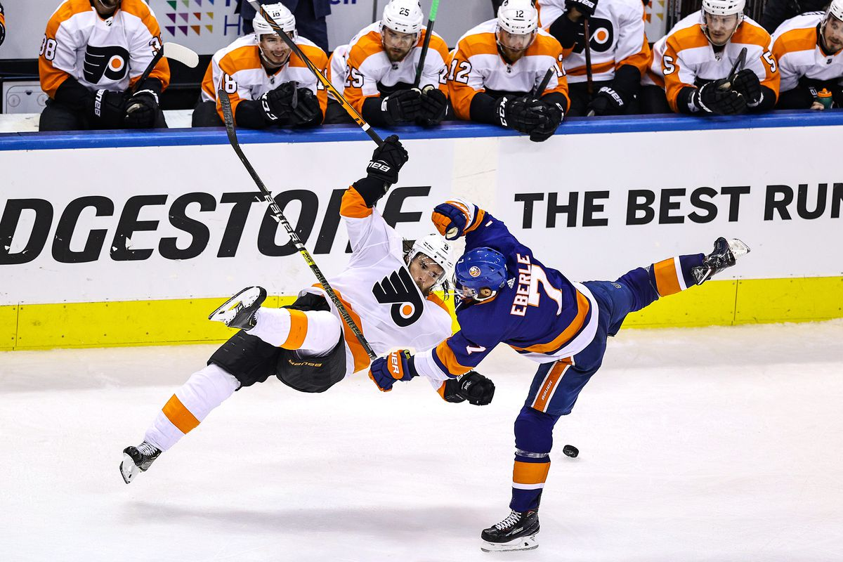 Flyers 5 Islanders 4 2ot Provorov Goal Sinks Isles After Two Goal Comeback Lighthouse Hockey