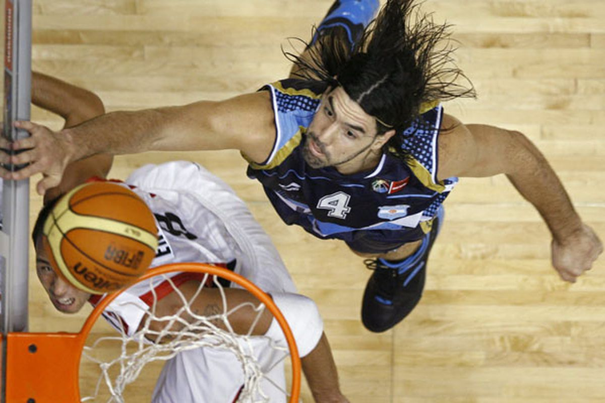 Scola and Argentina are pinning Canada's hopes of qualifying for the World Championships on the glass.  <em>(Hans Deryk, Reuters)</em>