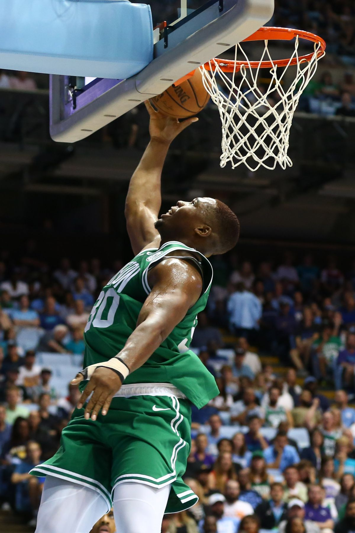 NBA: Preseason-Boston Celtics at Charlotte Hornets