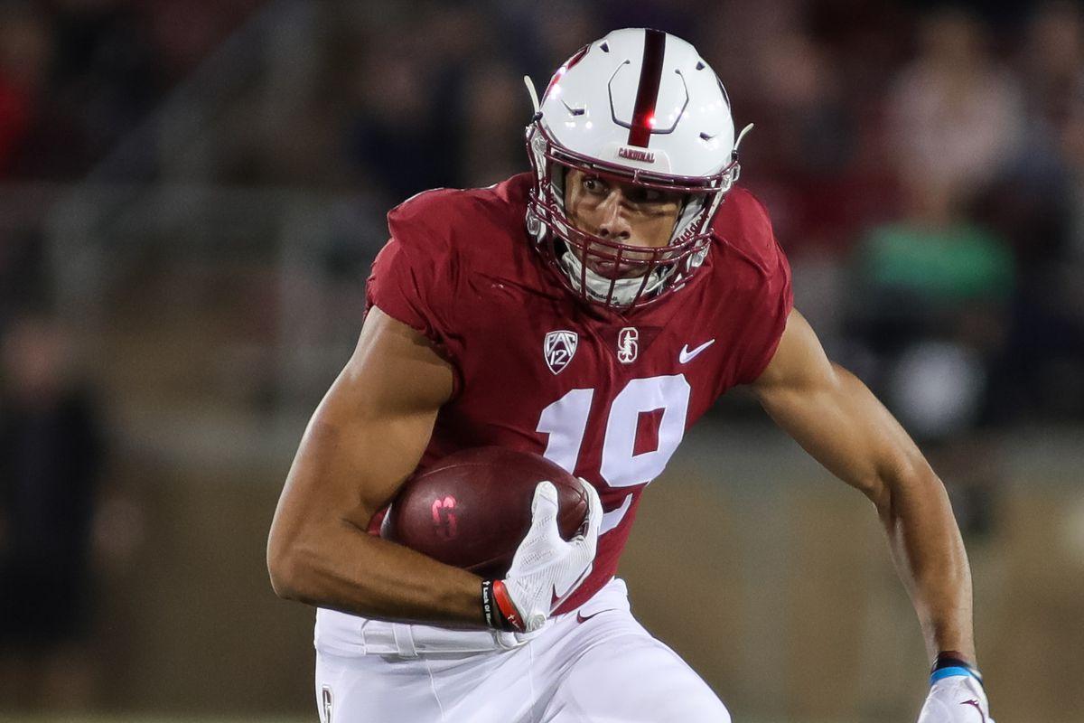 Jj Arcega Whiteside Again Stanford Leads 21 3 Rule Of