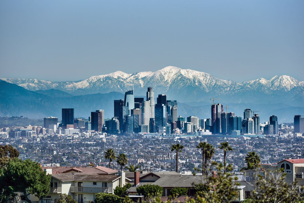 Los Angeles temperature hits 70 degrees for first time since