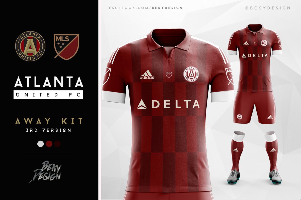 The Best Atlanta United Kit Designs From Design Football S
