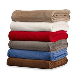 """This is hands-down, the most comfy throw blanket in existence. Perfect for curling up on the couch or wrapping into a makeshift robe for a trip to the kitchen, this <b>Warmzone Cozy Comfort Throw</b>, available at <a href =""""http://www.bedbathandbeyond.com"""