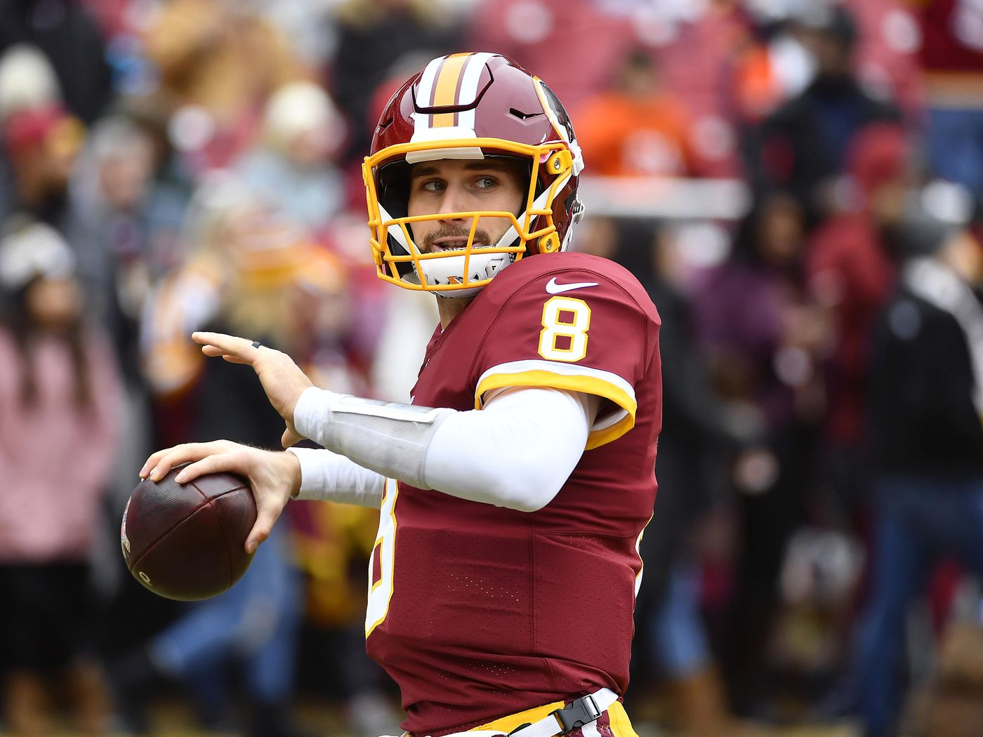 da9cb9370 Kirk Cousins Already Working Out With Receivers - Daily Norseman