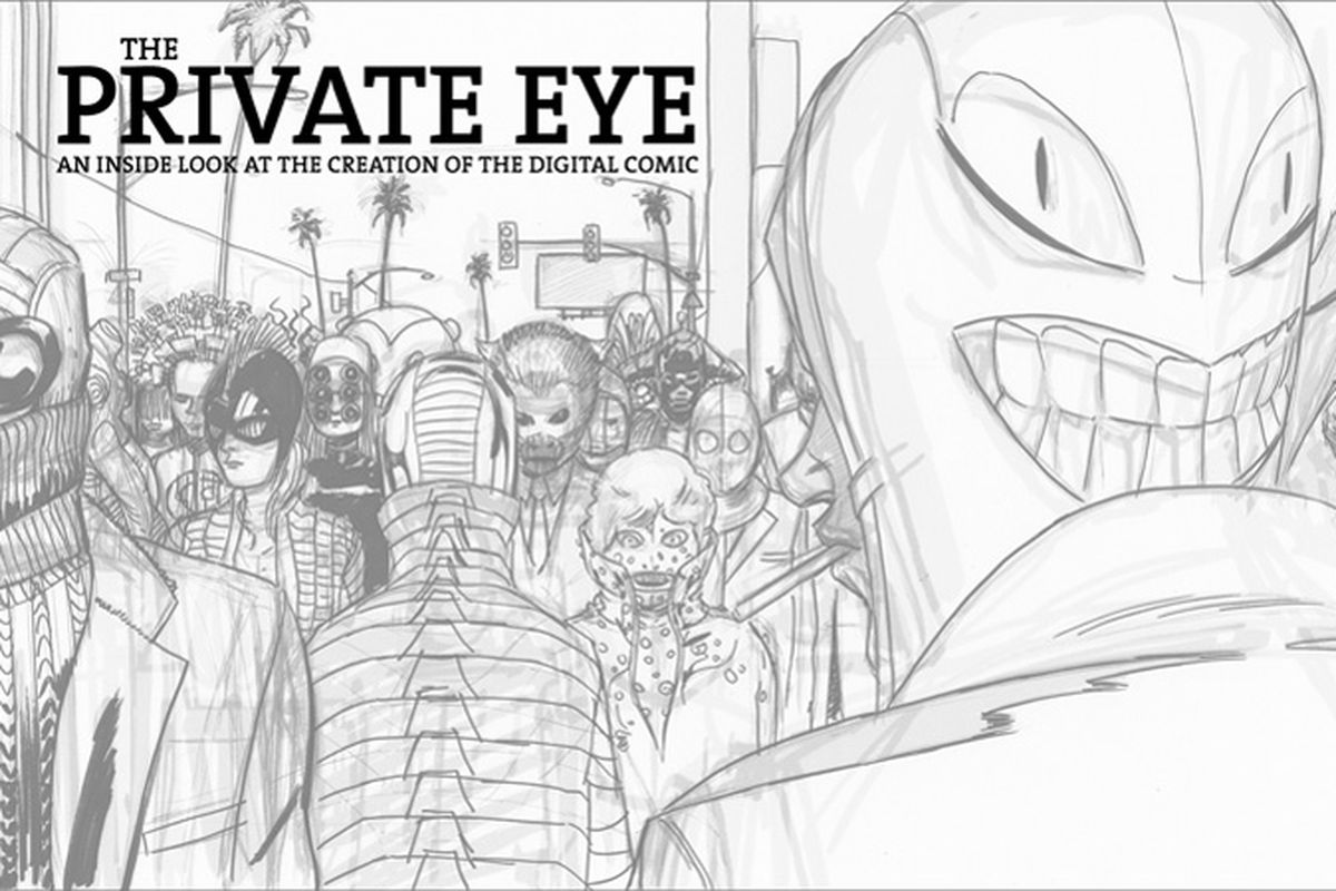 The Private Eye behind the scenes