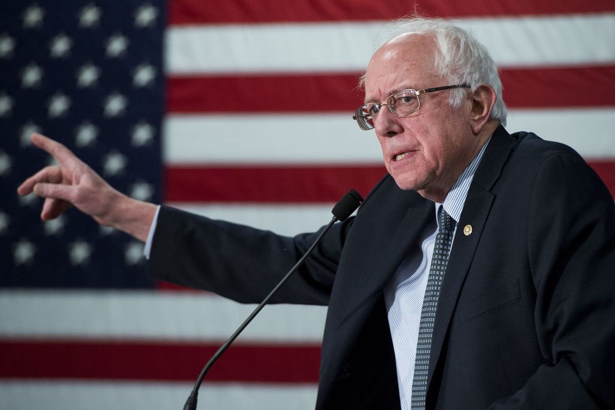 Bernie Sanders's path to the Democratic nomination got narrower Tuesday night.