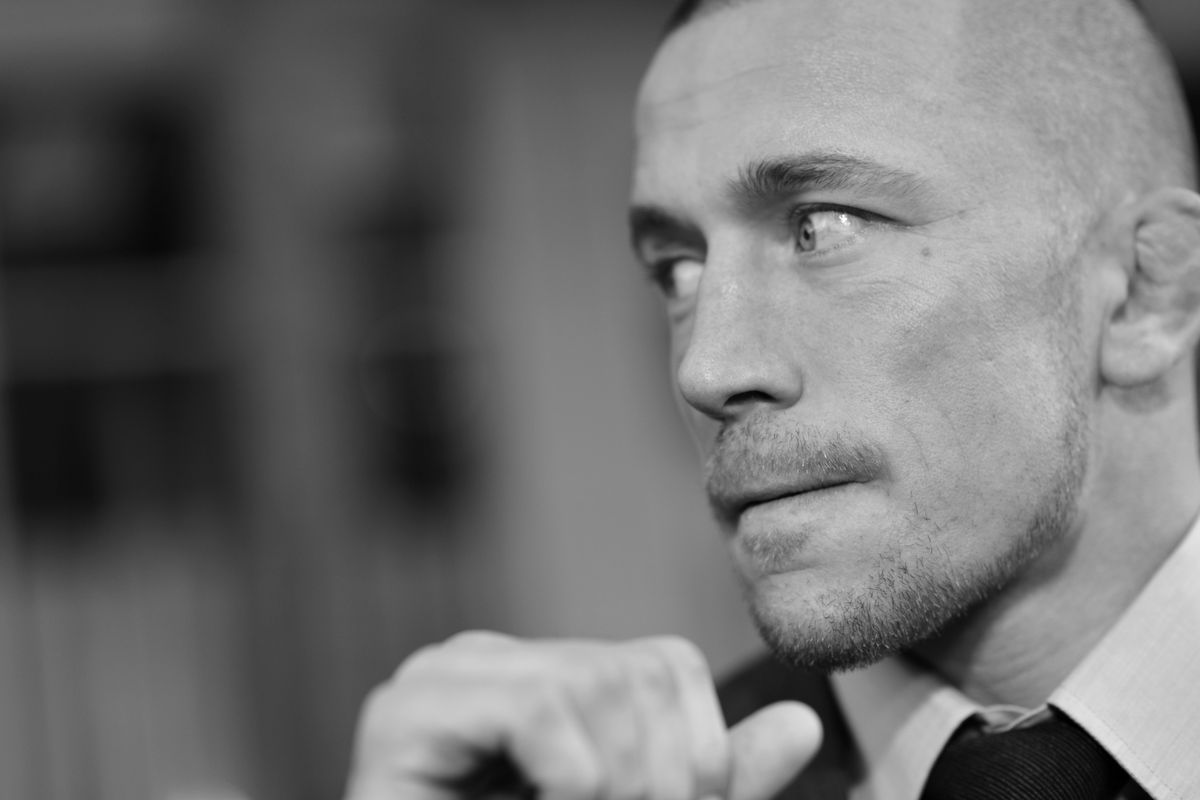 Video: UFC star Georges St-Pierre met his childhood bully on the