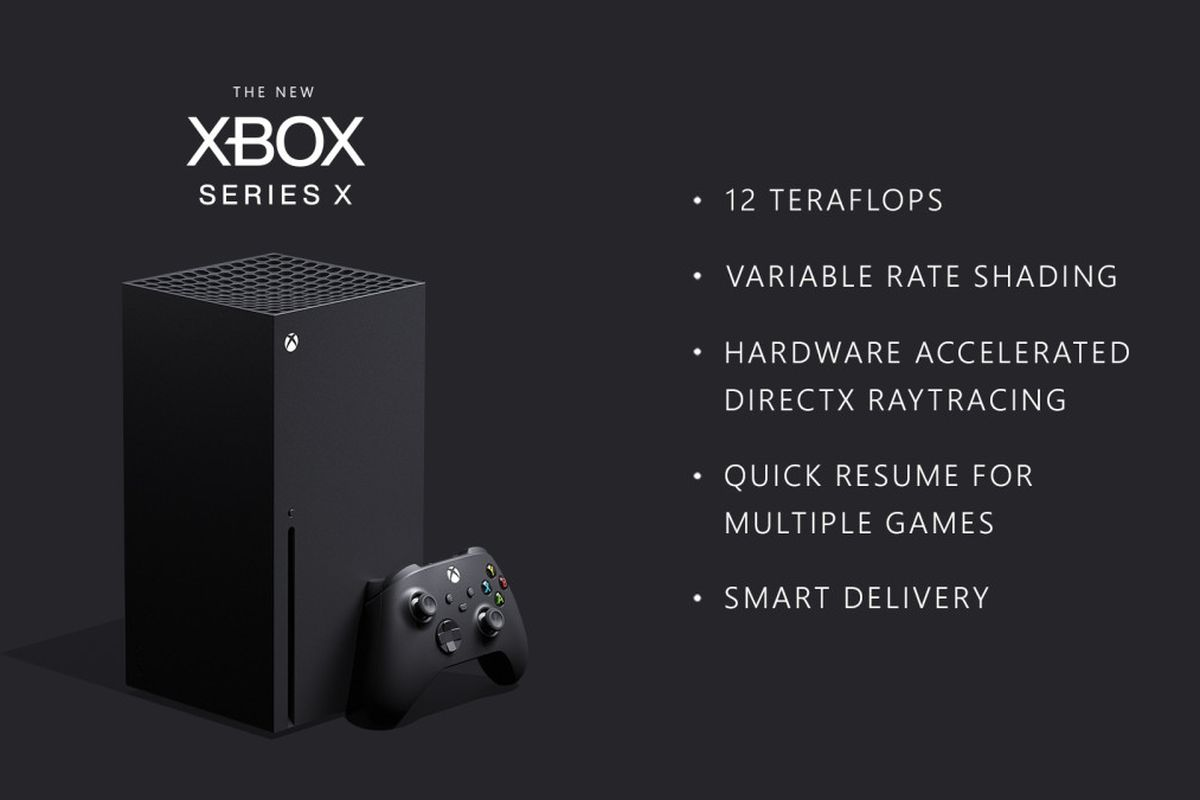 Xbox Series X Official Specs Amd Cpu 12 Teraflop Gpu Ssd And More The Verge