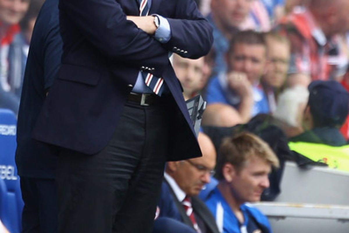 Walter Smith: Endured a frustrating time in charge at Goodison Park.