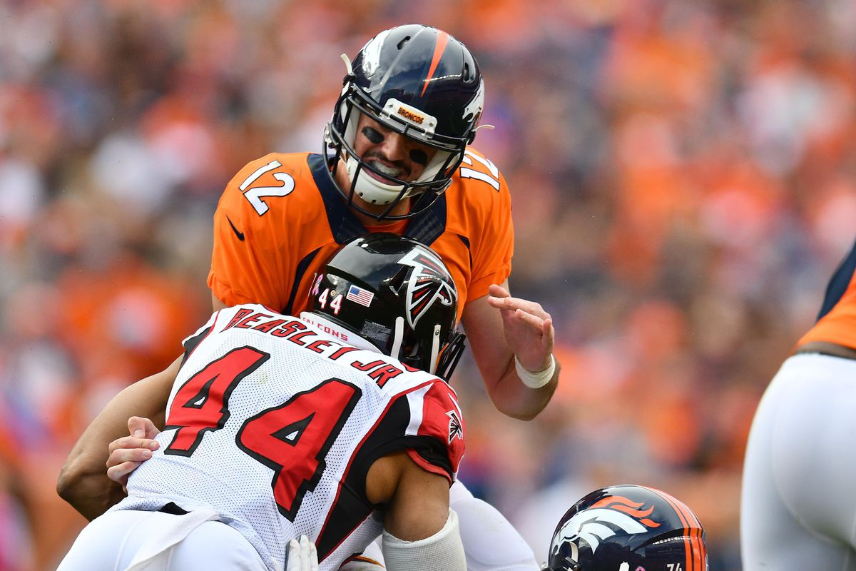 Vic Beasley beating his previous season stats in one game