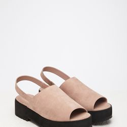 """Faux Suede Slingback Sandals, <a href=""""http://www.forever21.com/Product/Product.aspx?BR=f21&Category=shoes&ProductID=2000131089&VariantID="""">$27.90</a>"""