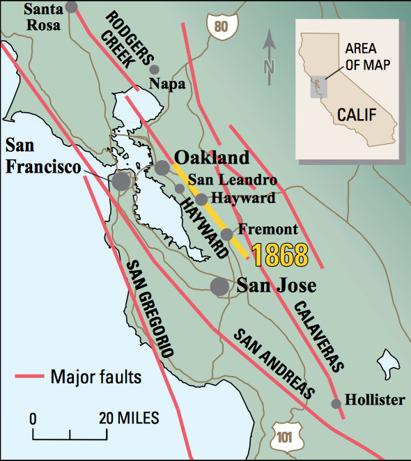 Bay Area Earthquake Guide Where Could The Big One Hit Curbed Sf