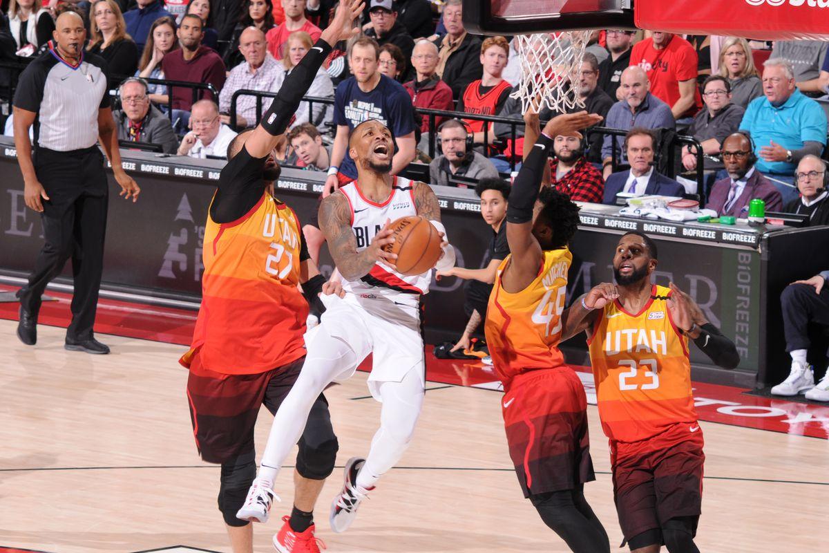 Damian Lillard Scores 51 As Portland Trail Blazers Easily Dispose Of Utah Jazz Slc Dunk