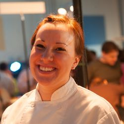 Sarah Coonradt, pastry chef from Walter's in Portland.