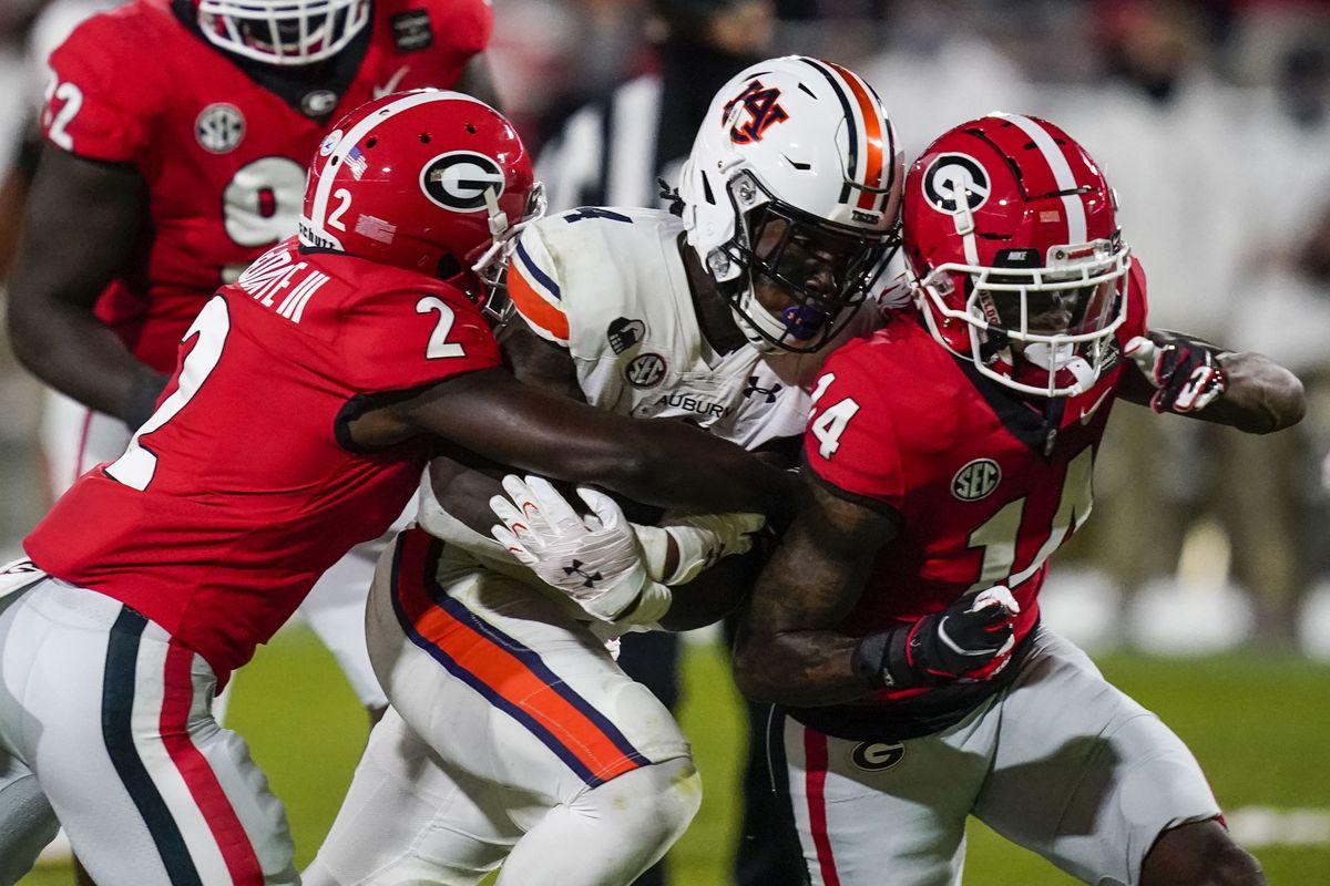 NCAA Football: Auburn at Georgia