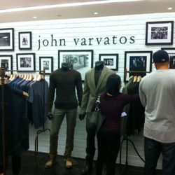 Duds at the new Varvatos shop inside Bloomies