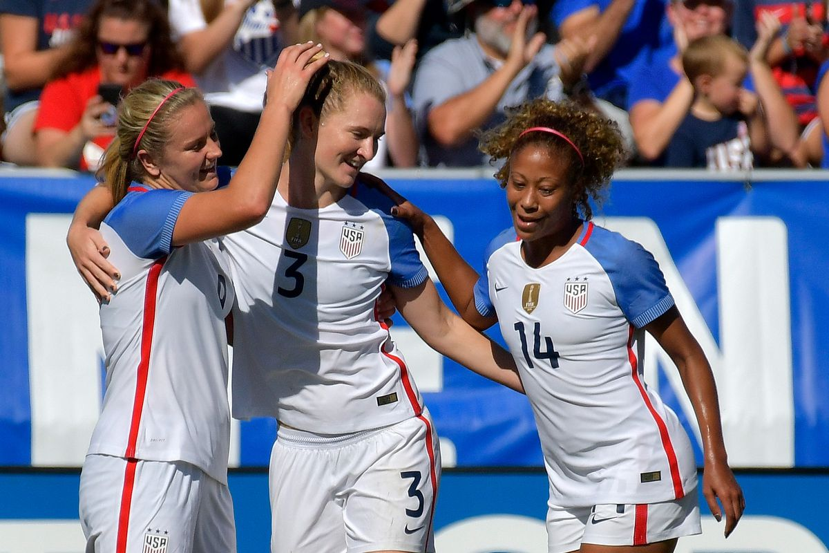 9def3999385 U.S. Women s National Team Soars to 6-0 Victory Over Korea Republic. Press