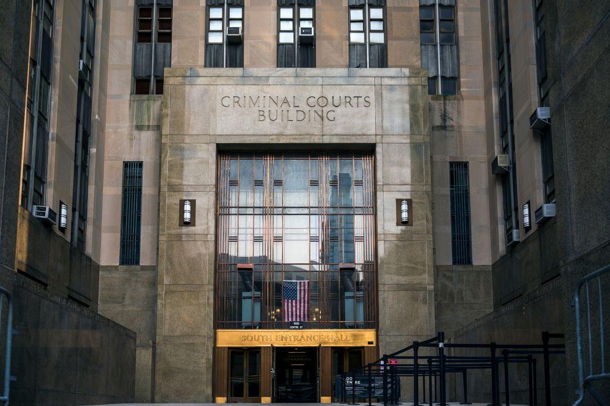 Manhattan Criminal Court in Lower Manhattan, Sept. 14, 2021.