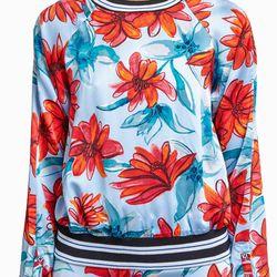 "uno Ribbed Hem Blouse, <a href=""http://owennyc.com/shop-women/women-designers/women-suno/suno-r1643-ribbed-hem-blouse-waterclr.html"">$148</a>"