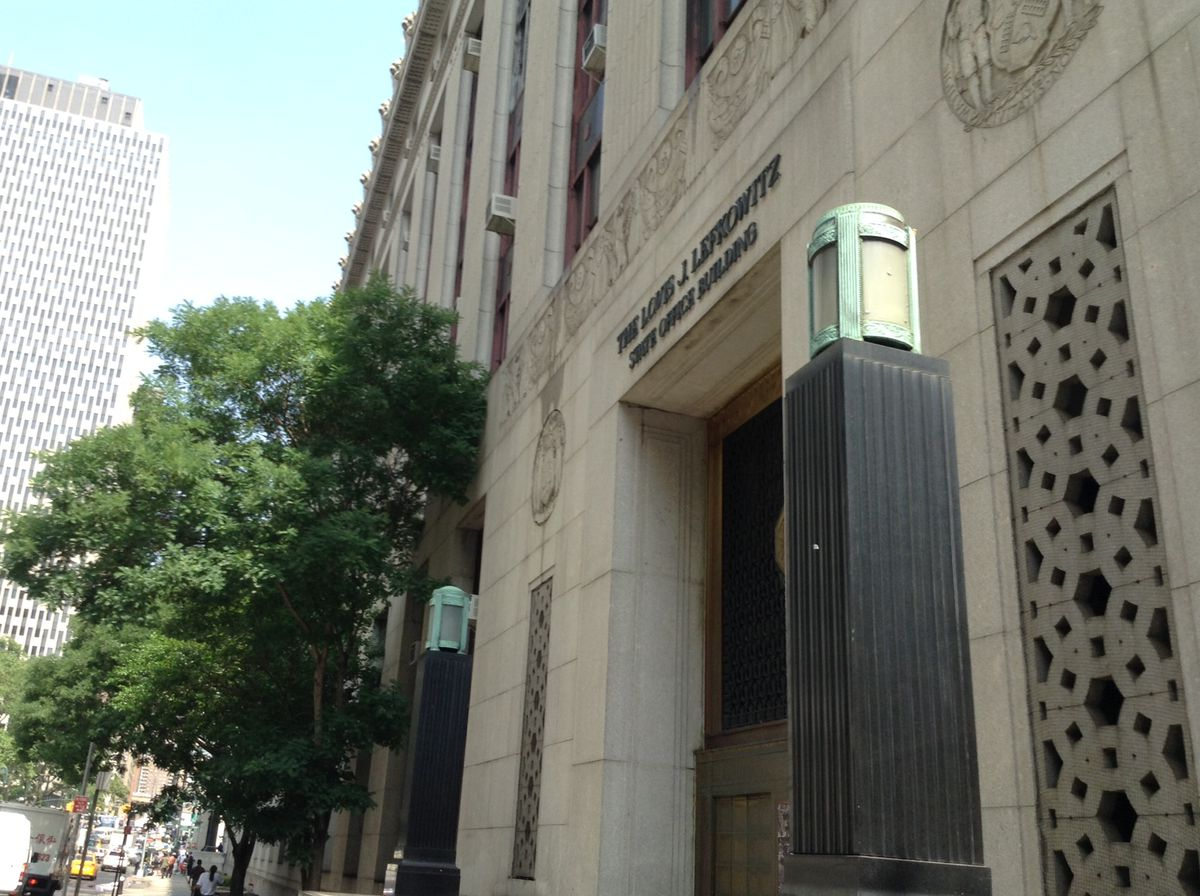 Emergency center on Wroth Street in New York