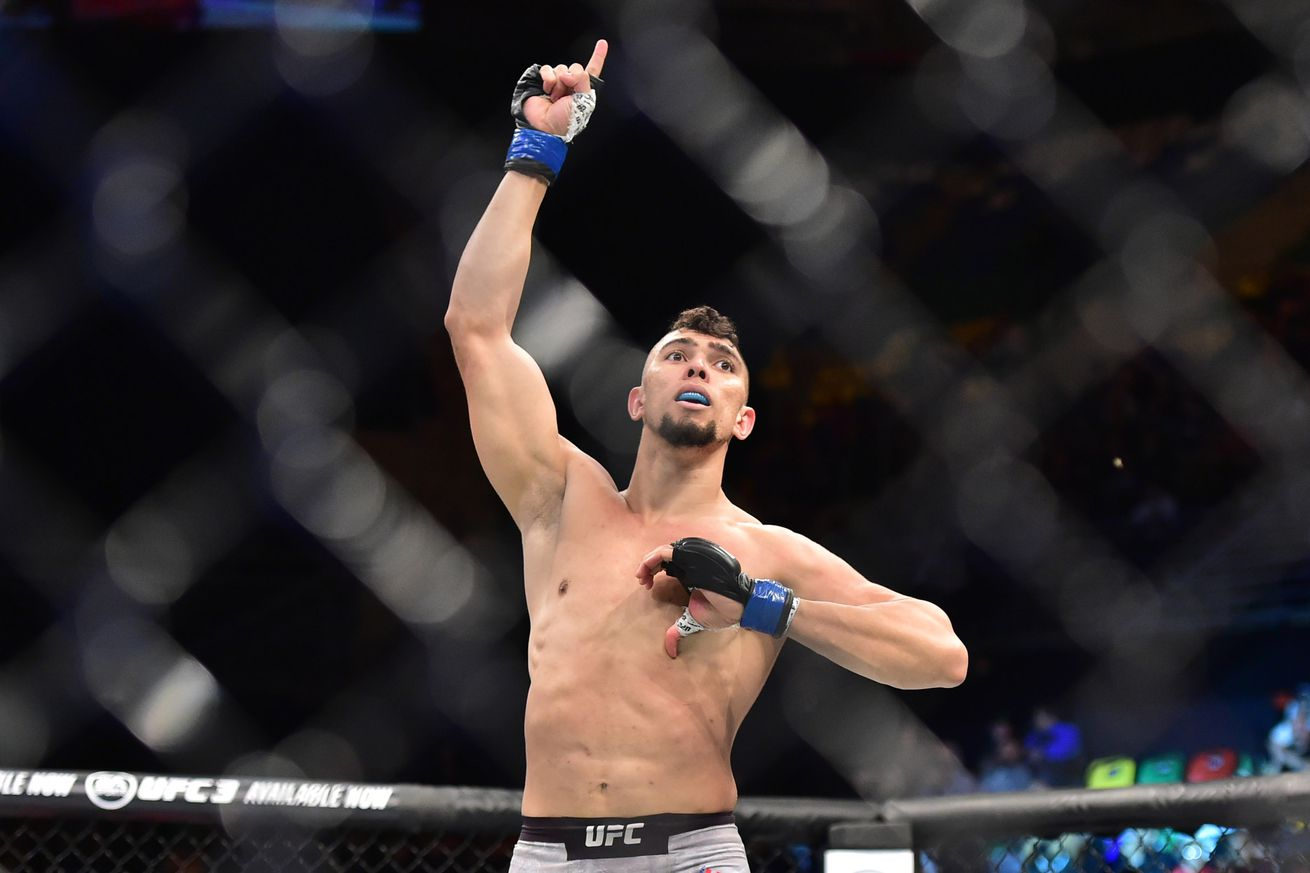 Johnny Walker is 2-0 in the UFC with a pair of quick knockout wins.
