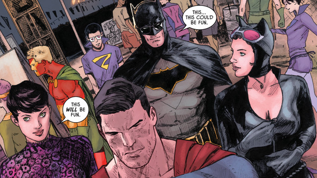 Batman and Superman went on a double date once