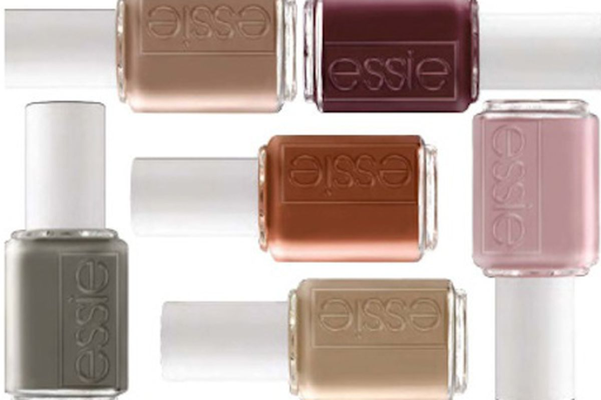 Essie\'s Fall Nail Polish Colors are Inspired by Post-War Handbags ...