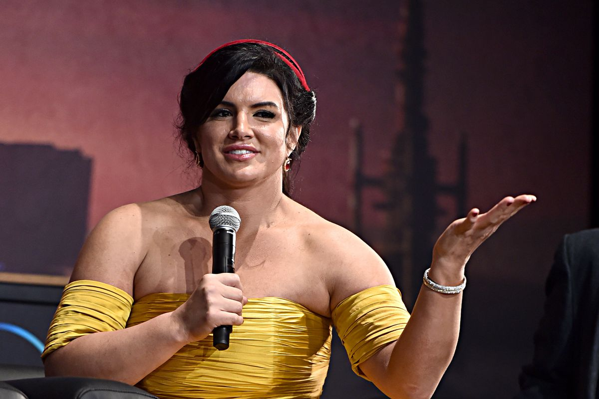 """Gina Carano. Premiere And Q & A For """"The Mandalorian"""""""