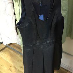Leather Liv dress $200