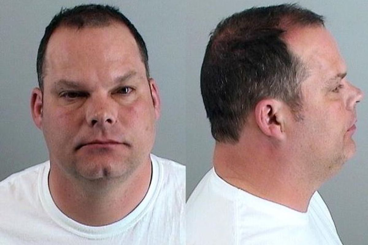Denver Broncos Director of Pro Personnel Tom Heckert's booking photo from his June 11, 2013 DUI arrest.