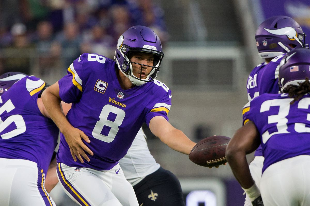 monday night football: vikings vs. bears — game time, tv schedule