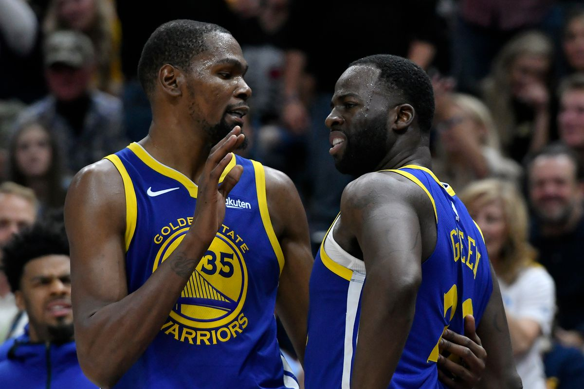 Report: Kevin Durant challenged Draymond Green to better control his emotions