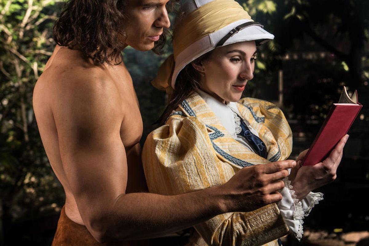 "David Matthew Smith and Malia Mackay (T/Th/S cast) star in ""Tarzan,"" Hale Center Theater Orem's newest musical, which runs June 8-Aug. 6."