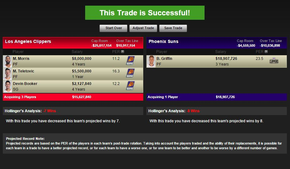 Griffin trade