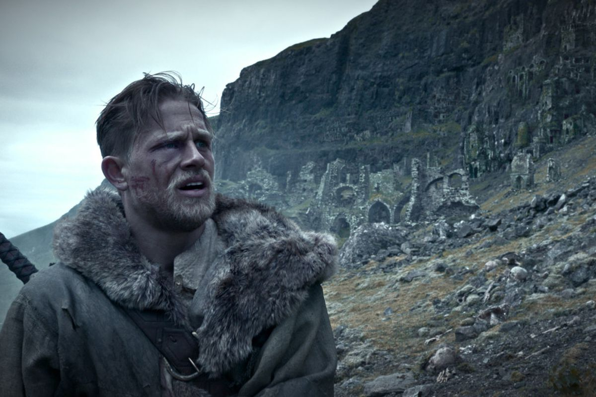 See 'King Arthur' for the dauntless men, not the dopey monsters