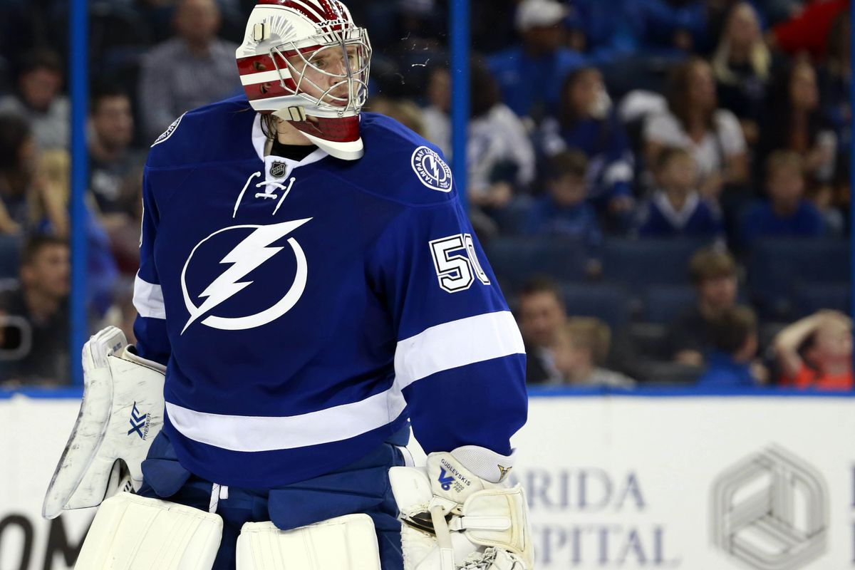 Will Kristers Gudlevskis be starting tonight in Chicago?