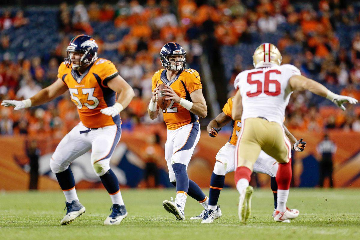 NFL: Preseason-San Francisco 49ers at Denver Broncos