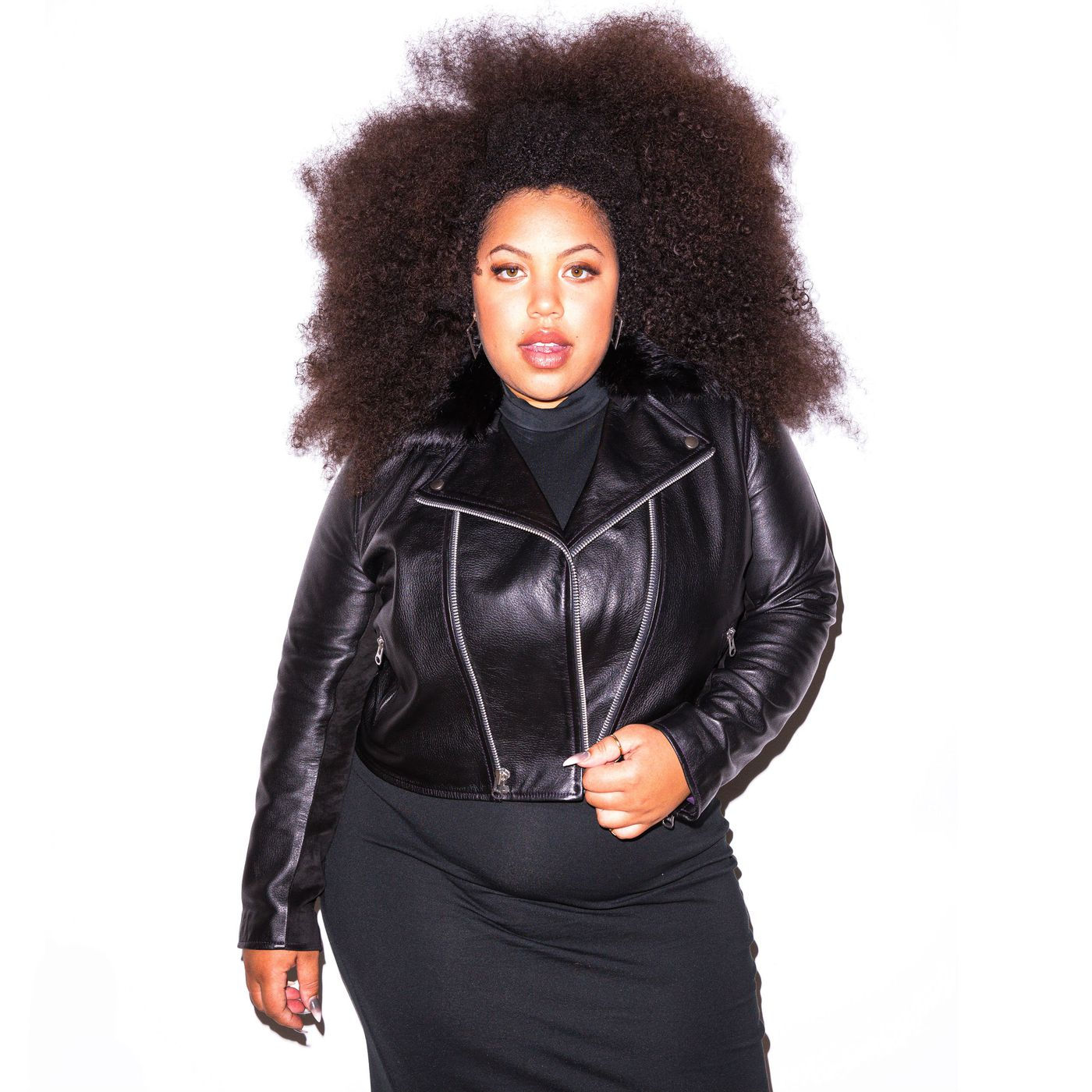 18b0e0213 Meet the Designer Making the Best Plus-Size Leather Jackets - Racked