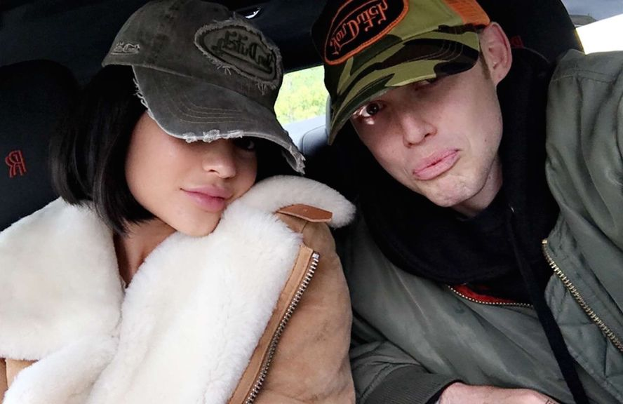 Kylie Jenner trucker