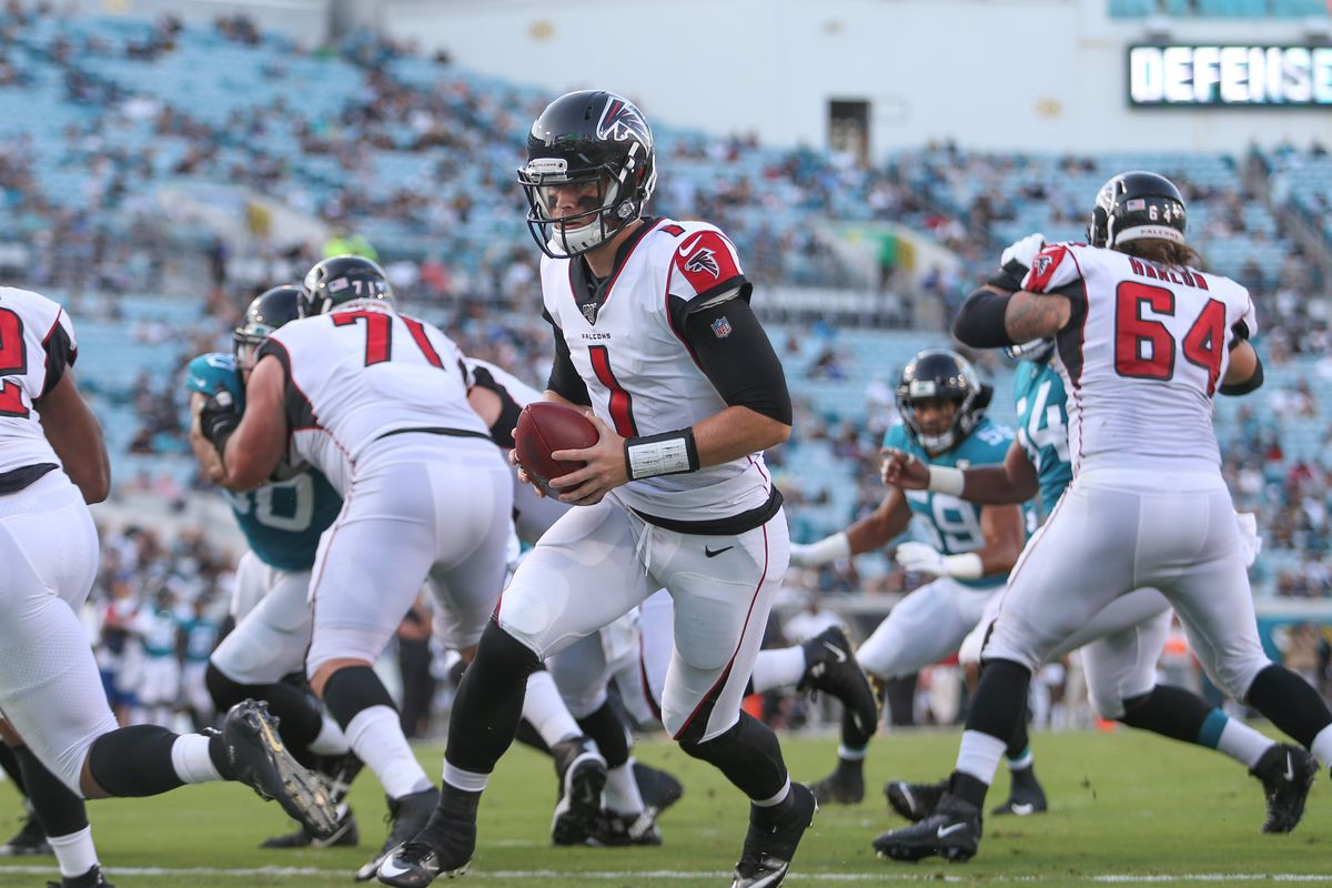 NFL: AUG 29 Preseason - Falcons at Jaguars