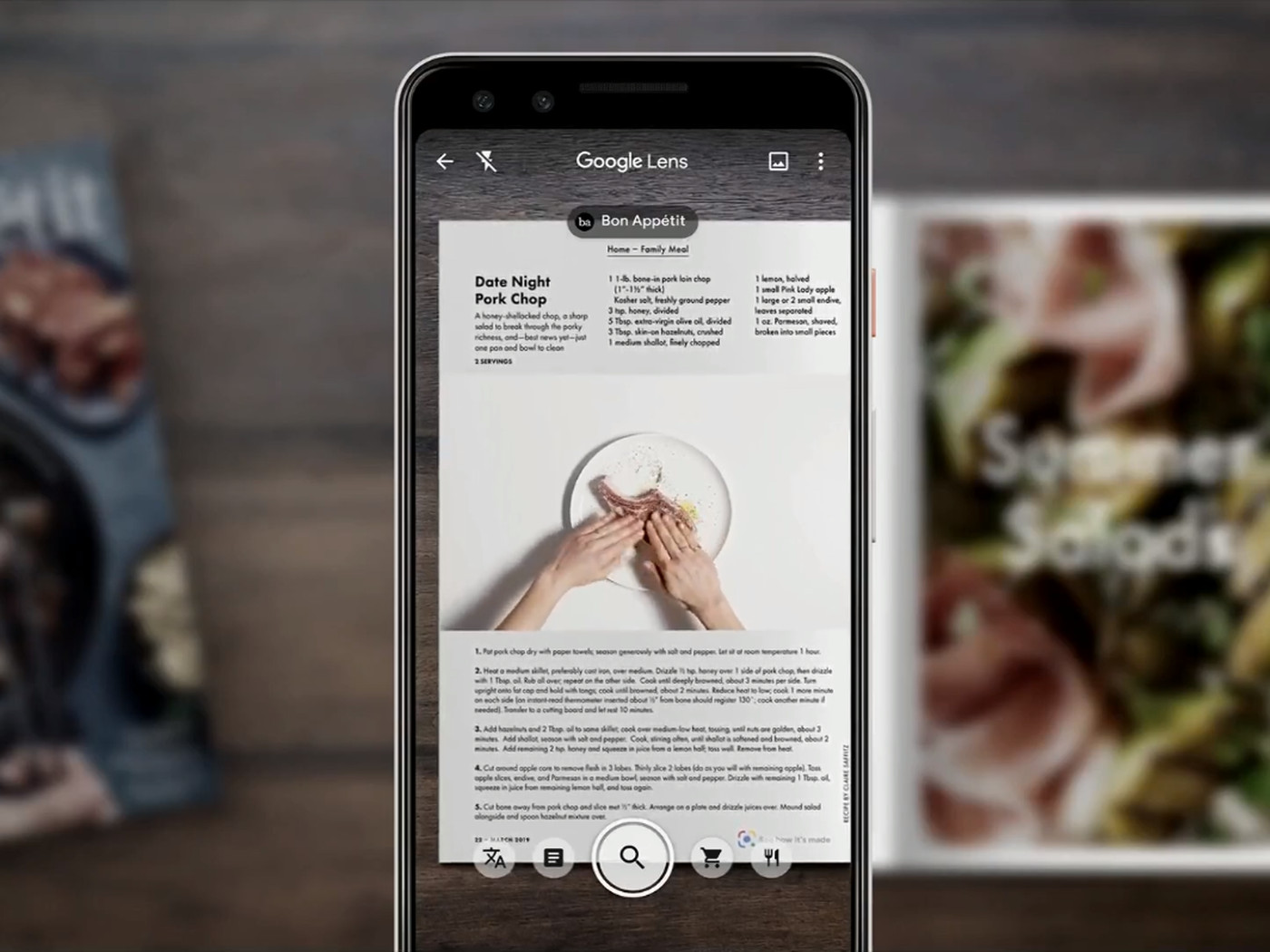 Google Lens will start recommending what you should eat at
